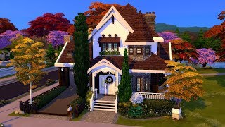 The Sims 4    Speed Build    Seasons + Cats & Dogs