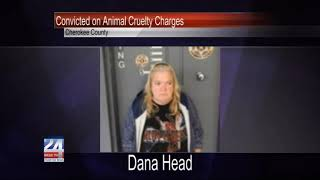 Gaylesville Woman Convicted on Animal Cruelty Charges