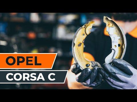 Wie OPEL CORSA C Bremsbeläge hinten TUTORIAL | AUTODOC