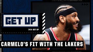 Why Carmelo will be a good fit with LeBron and the Lakers   Get Up