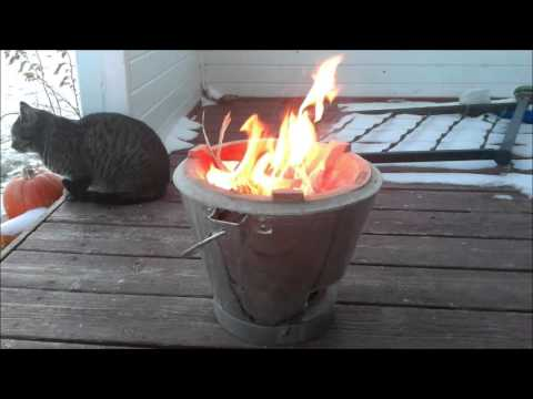 Asian Rocket Stove! Outdoor Camp Cooking Stove from Thailand