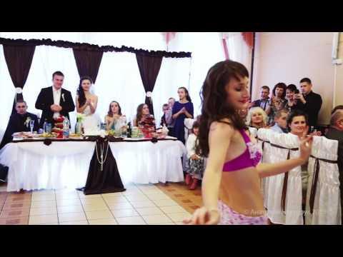 Восточный танец в подарок на свадьбу брата