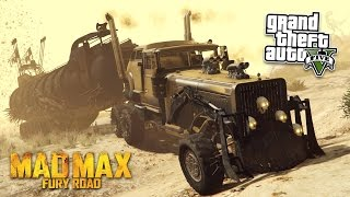 GTA 5 Mods - ULTIMATE MAD MAX VEHICLES MOD! GTA 5 Mad Max Mod Gameplay! (GTA 5 Mods Gameplay)
