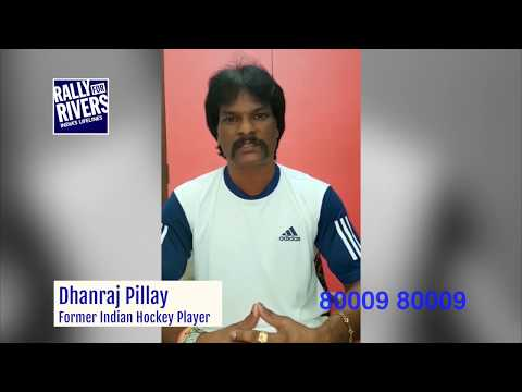 Dhanraj Pillay Supports Rally For Rivers