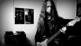Bathory - Mother Earth Father Thunder (guitar cover)