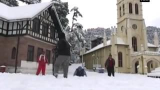 Intense Snowfall Disrupts Normal Life In Shimla  ANI News