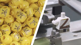 How are LEGO Minifigures Made? | LEGO Factory Behind The Scenes