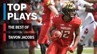 The Best of Taivon Jacobs: 2018 Mid-Season Highlights | Maryland | Big Ten Football