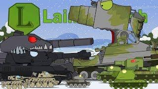Мультики про танки. Все серии подряд Часть 2. LaimenFlash