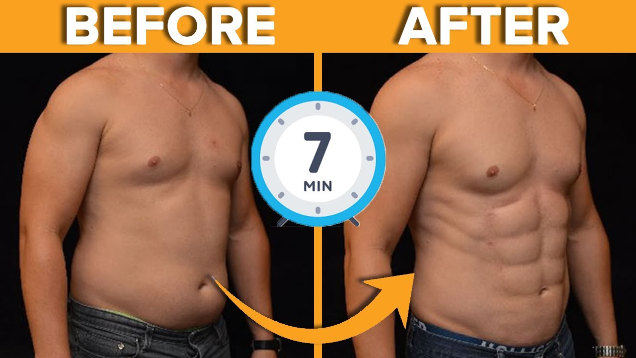 7 Minute Workout to Lose Belly Fat Fast