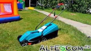 Газонокосилка Bosch Rotak 32 видео