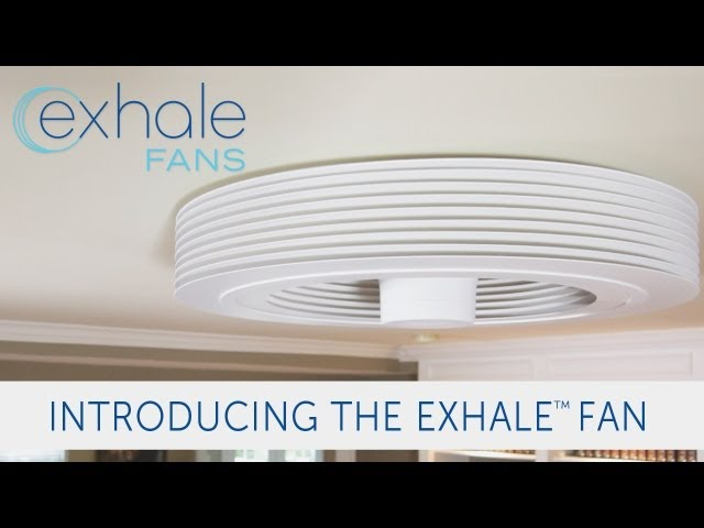 Exhale Ceiling Fan exhale bladeless ceiling fan - the awesomer