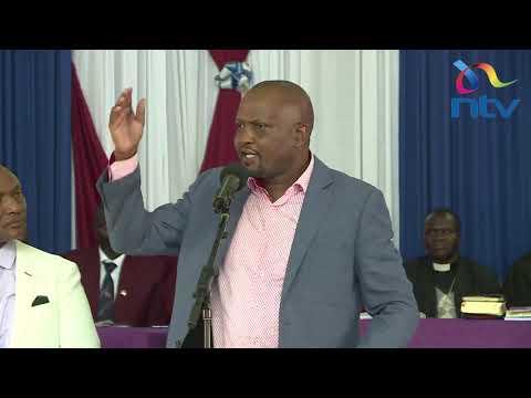 "''Tenda wema nenda zako."" - Moses Kuria tells of critics seeking extension of Presidential term"