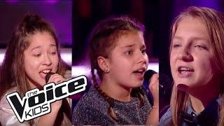 "Ilyana / Christina / Morgane - ""Cheap thrills""   The Voice Kids France 2017   Battle"