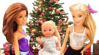 Детские видео про куклы Барби и Новый Год!
