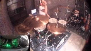 Angels and Airwaves - Bullets in the Wind - drum cover