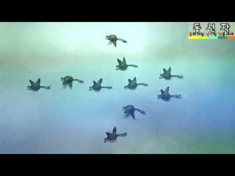 , title : '기러기의 머나먼 여행(long journey of wild geese) - 동신작(동화처럼 신기한 작품세계 - Magical Art like a fairy tale)