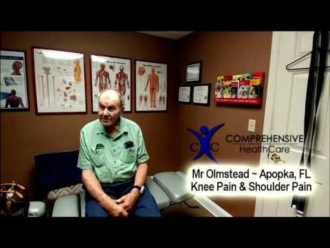 Mr. Olmstead - Knee & Shoulder Pain