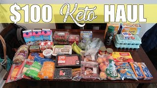 $100 Aldi Keto Grocery Haul | Low Carb for Autoimmune