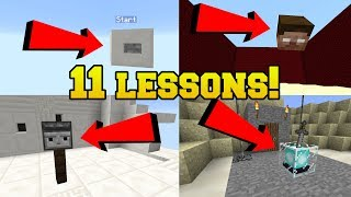 11 MINECRAFT LESSONS YOU NEVER KNEW!!!