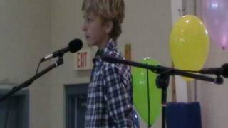 "AMAZING!  Jonathan Martin 9 year old singing ""That's Just the Way He Was Raised"""