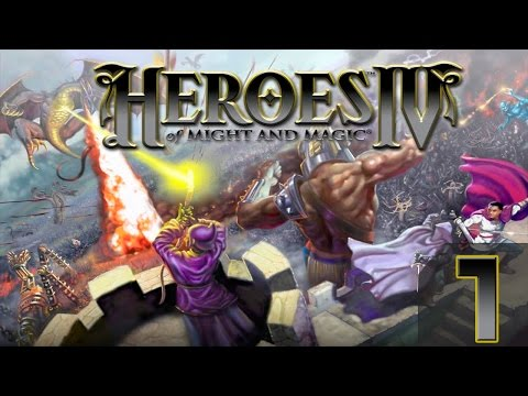Heroes of Might and Magic 4 Прохождение(Невозможно) #1 - Жизнь 1