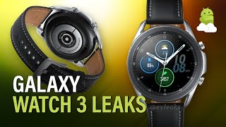 Samsung Galaxy Watch 3 Leaks: Specs, Sizes + More!