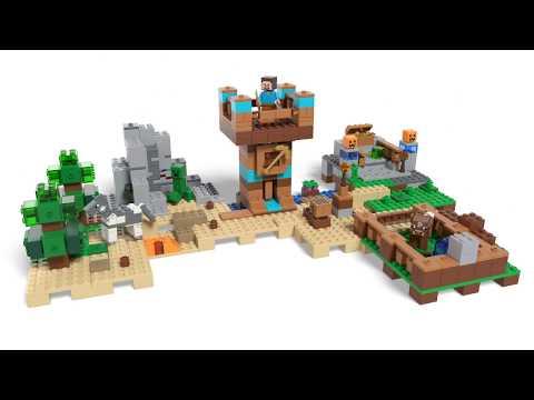 Vidéo LEGO Minecraft 21135 : La boîte de construction 2.0