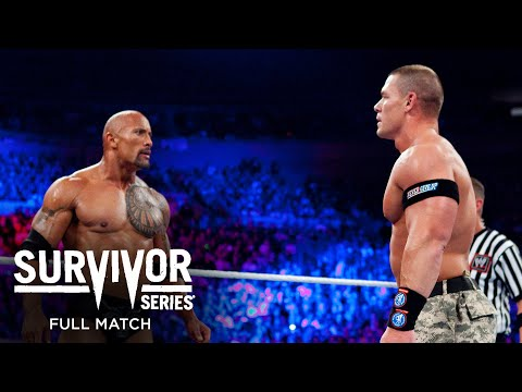 FULL MATCH - John Cena & The Rock vs. The Miz & R-Truth: Survivor Series 2011