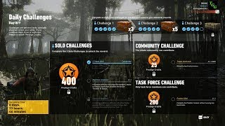 Ghost Recon Wildlands - Week 7 Day 6/7 Solo Challenge 1