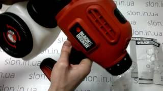 Краскопульт BLACK&DECKER BDPS200, 120Вт, 1180мл, 5,8GPH. - видео 1