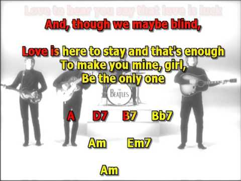 Things we said today Beatles Mizo Vocals lyrics chords cover
