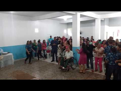 Igreja Mundial do Poder de Deus em Moju com Pastor Maycon e missionária Regiane 😉🙌