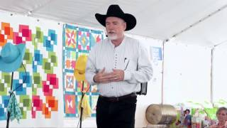 PART 1: AccuQuilts 4th Annual Barn Quilt Unveiling Event Presentation By Ricky Tims