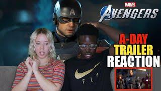 Marvel's Avengers: A-Day | Official Trailer E3 2019 REACTION