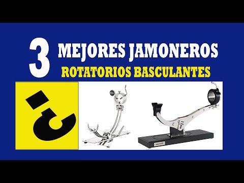 [3#]👉 NO COMPRES UN AFINOX sin ver estos JAMONEROS GIRATORIOS BASCULANTES PROFESIONALES