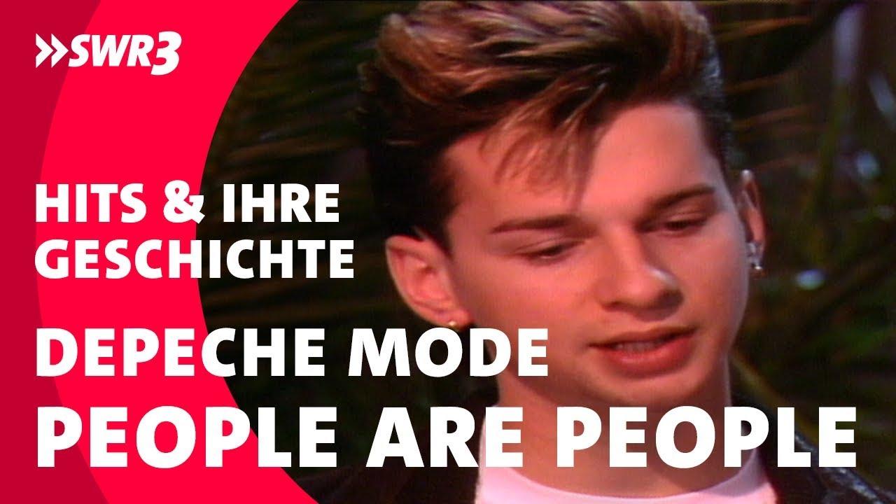 Die Größten Hits und ihre Geschichte: Depeche Mode - People Are People; Foto: SWR3