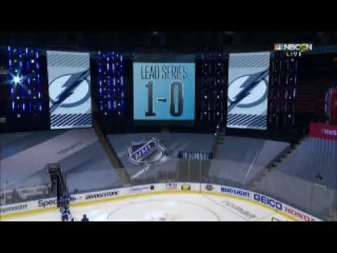 Tampa Bay Lightning Game-Winning Goal In 5TH OT Over Columbus Blue Jackets