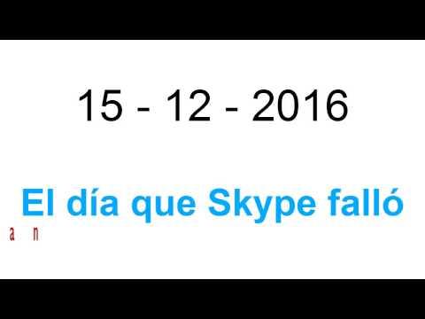 El fallo global de Skype por el que Microsoft no da respuesta