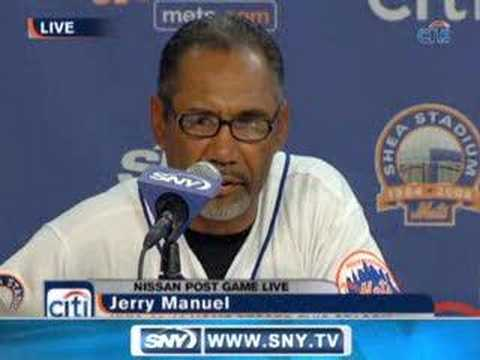 SNY.tv - Post Game: Jerry Manuel 06-24-2008