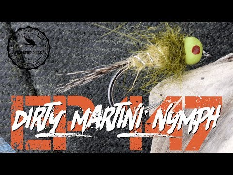 Tying a Dirty Martini Nymph Fly pattern for Trout