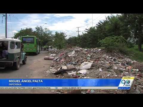 Denuncian vecinos: alrededores del Isaías Duarte son un completo basurero