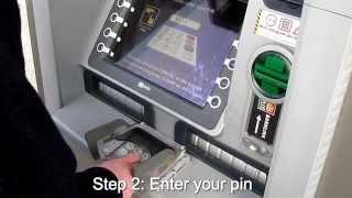 How to Withdraw money from an ATM