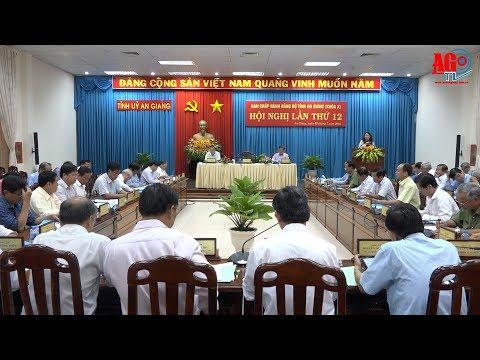 Hội nghị lần thứ 12, Ban Chấp hành Đảng bộ tỉnh khóa X