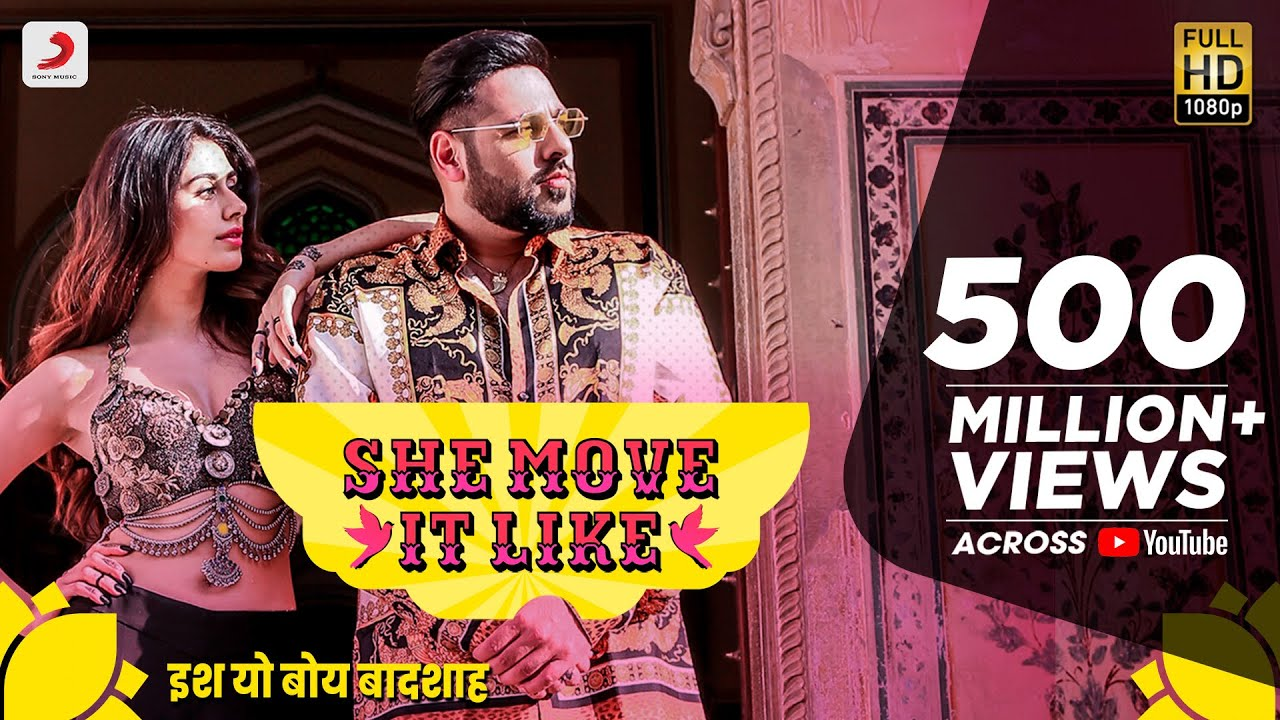 She Move It Like Lyrics in Hindi - Badshah