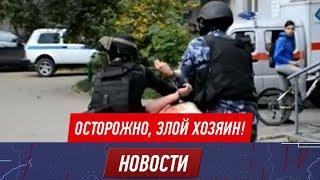 Ножом в спину ответил житель Петропавловска на замечание по поводу своей собаки