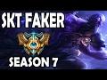FAKER plays RYZE vs A Korean Challenger LEBLANC Season 7