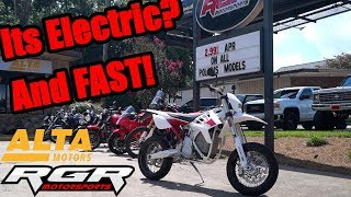 2018 Alta Redshift SM | Electric Supermoto