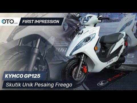 Kymco GP125 | First Impression | Skutik Unik Pesaing Freego | OTO.com