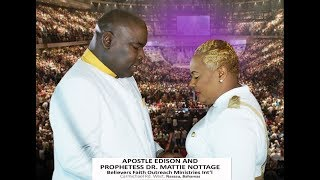 GOD OF FIRE & POWER DESTROYS WICKED ALTARS||APOSTLE EDISON & PROPHETESS MATTIE NOTTAGE
